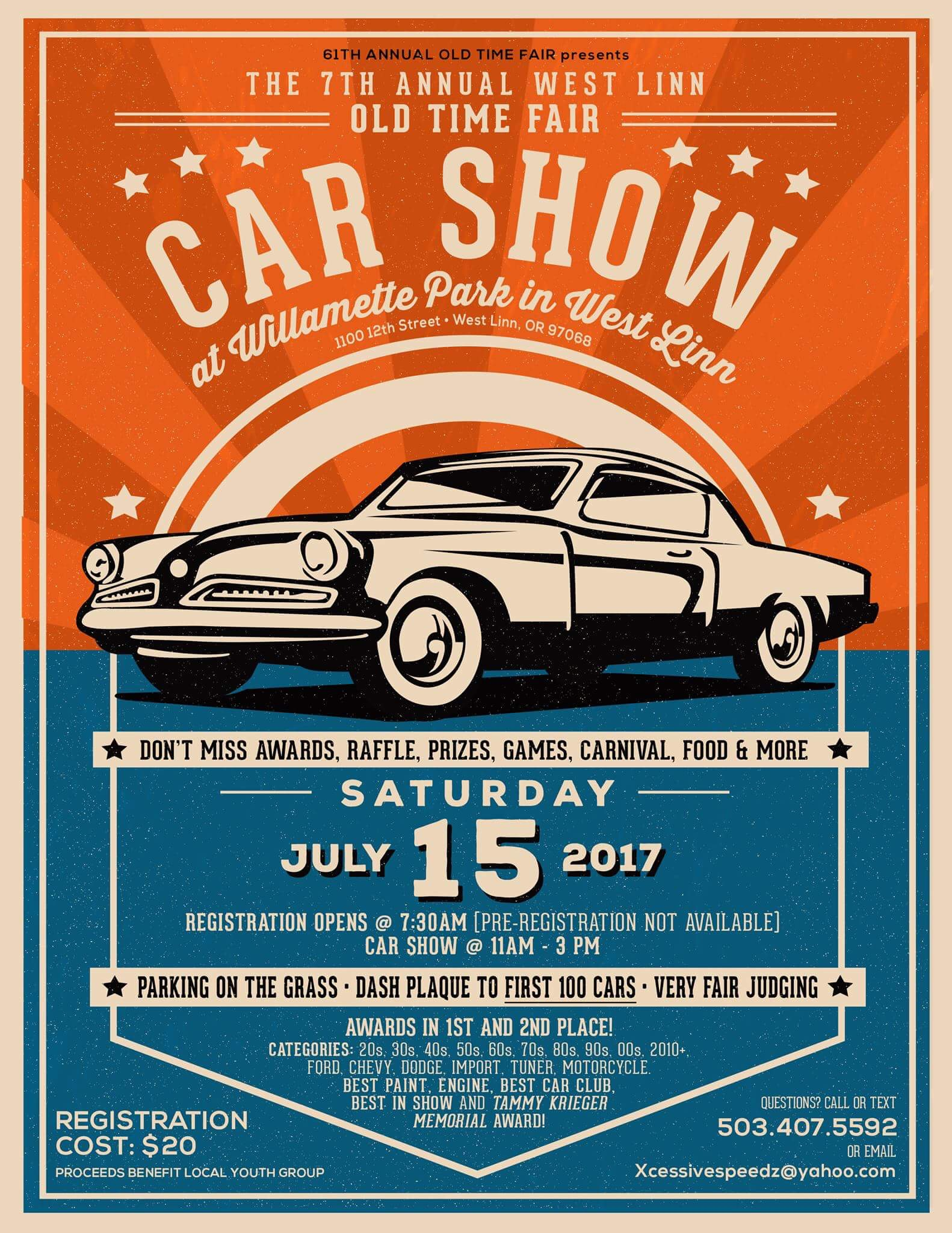 Car Show Information & Registration Form | City of West Linn ...