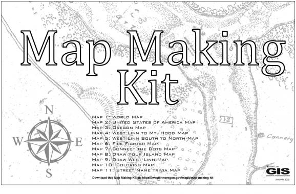 Map Making Kit | City of West Linn Oregon Official Website on 3d map making, geography map making, cartography map making, architecture map making, cad map making, archaeology map making,